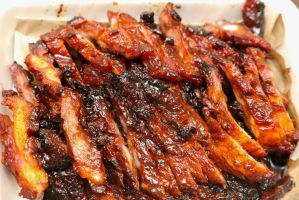 Barbecued ribs by patchow