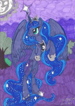 The princess of the night by Maylyne72