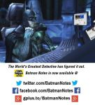 Batman Notes Social Networking Sites by batmannotes