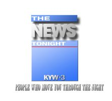 KYW's 1991 11pm News Logo by citynetter