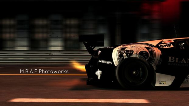 Shift 2 Unleashed: Flamethrower by MRAFPhotoworks