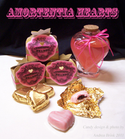 Amortentia Hearts - Honeydukes-Candies by TheCopperDragon2004