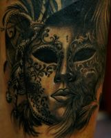 venetian mask by strangeris