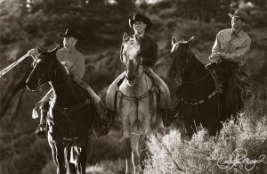 Three cowboys portrait by photocrafter
