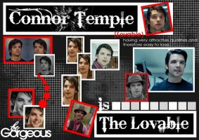Connor temple- is the loveable by Virus-The-Cat