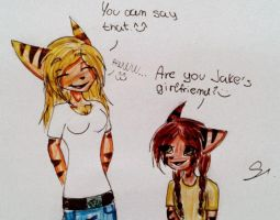 You can say that ^^ by JinxytheLombax