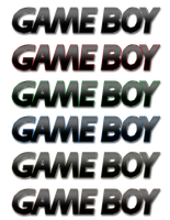 Alu Gameboy Logo multicolor by ArRoW-4-U