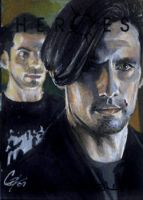 Heroes: Peter Petrelli color by gattadonna