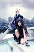 Cosplay-FINAL FANTASY VII by BaoziandHana