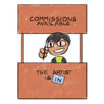 Commission Status: Open by Variable-Edge