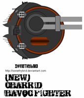 Farscape Charrid Havoc Fighter by SovietHybrid