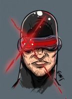 Cyclops Sketch by geogant