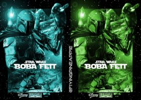 STAR WARS: BOBA FETT by F1yingPinapp1e
