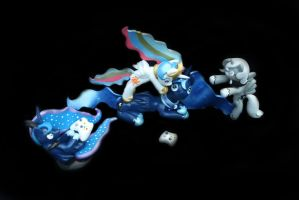 woona luna and celestia FOR SALE by emmyzbunny
