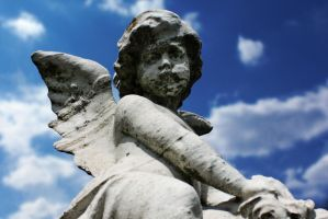 Angels Watching Over Me VII by touch-the-flame