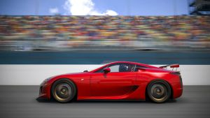 One fast Lexus LFA by RaynePhotography