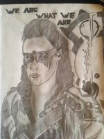 Commander Lexa the 100 by CCheryl
