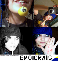 Emo Craig Cosplay by southparkcosplay