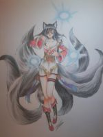 [Commision for Samantha.R] Ahri by Fumikka