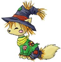 Scarecrow Fox by ImaginaryFox