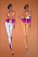 Collection of dresses 1. by Verenique