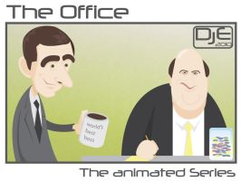 TheOffice - Michael and Kevin by johnnymartini