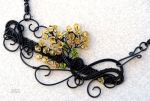 Fall Tree of life statement necklace! by IanirasArtifacts