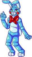 Toy Bonnie that is rude by CollisionXIII