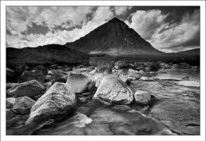 Buachaille Etive Mor Mono by DL-Photography