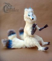 Aijiro the Kitsune Room Guardian by AnyaBoz
