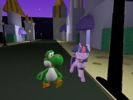 Gmod AT: Little walking with the princess by Aso-Designer