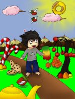 Candyland 8D - Coloration by Luluriel
