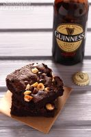 Brownies with Guinness by kupenska