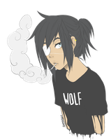 wolf by 6arnaboo