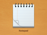 Notepad icon 1 by wakaba556