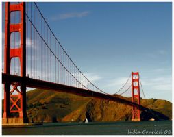 Golden Gate Bridge by lydiagourioti