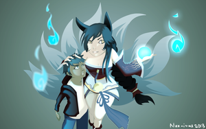 A thing or two about Ahri by Nox-ious