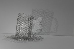 Wire tea cup by JasmineDominique