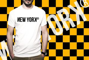 Design of the Day - NEW YORK by wordanscustomtshirts