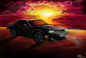 2012 Challenger RT by Miahii
