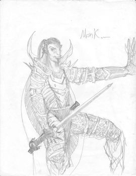 Monk by Bahamut20