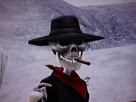 Timesplitters Future Perfect Sheriff Skullface by OctoRed77x