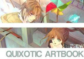 Quixotic Artbook preview by aiki-ame