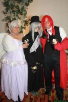 The Angel, The Reaper and The Undertaker by FireflyStarlight