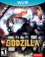 Godzilla 2014 game cover by lagrie