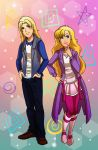 WW2015: Flora and Daniel by Card-Queen