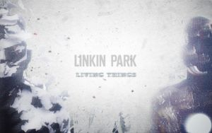 Linkin Park - Living Things Wallpaper by MasterExpl0der