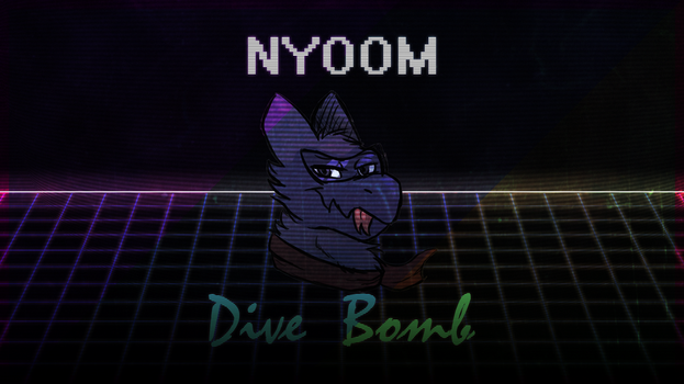 More 80's Nyoom Dragon by SevenUpPony