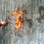 Fire Hand by motiongraphicdesign