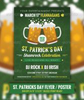 St. Patrick's Day Event Flyer / Poster by JamesRuthless